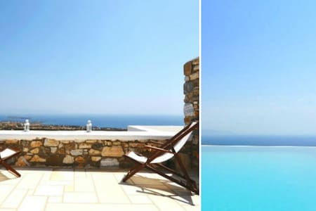 1 Bedroom Pool House - Paros - Aspro Chorio