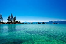 1 bedroom unit at resort on beach of Lake Tahoe!