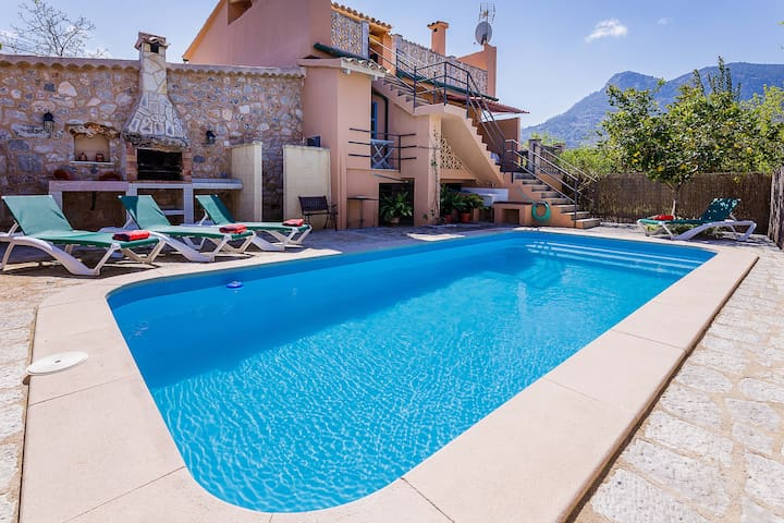 Soller private pool x 6 people - Sóller - House