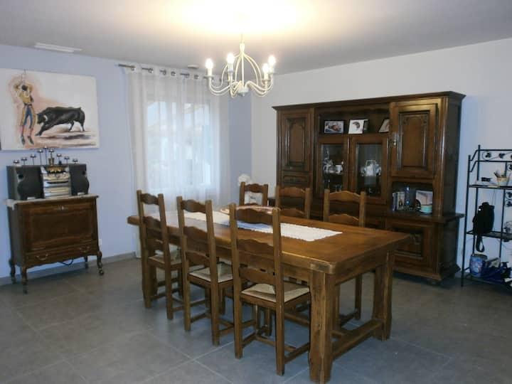 Maison de 120 m2 avec jardin  Hérault 34920
