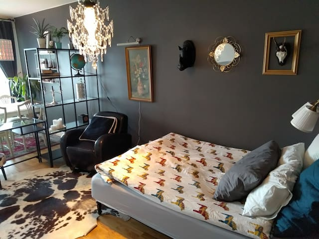 All-in-one suite in Linköping's city heart