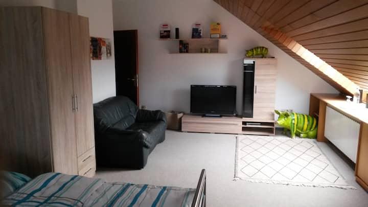 1 Zimmer mit je 2 Einzelbetten