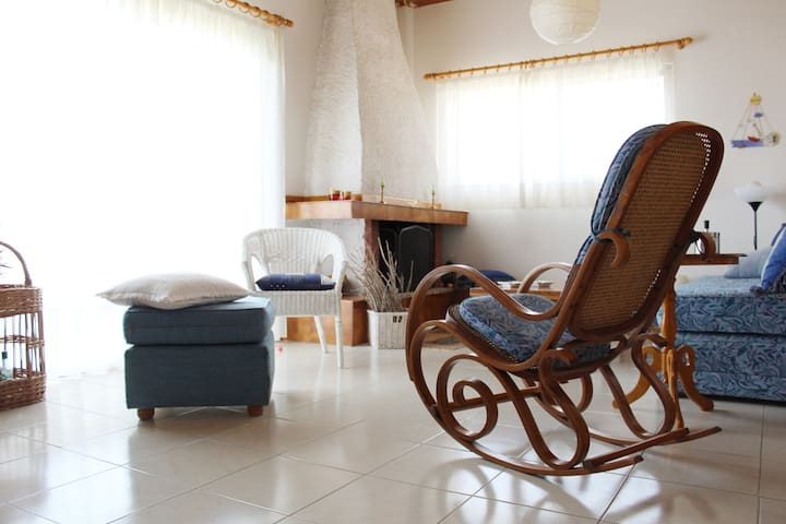 Boho traditional summer beach house near Athens!
