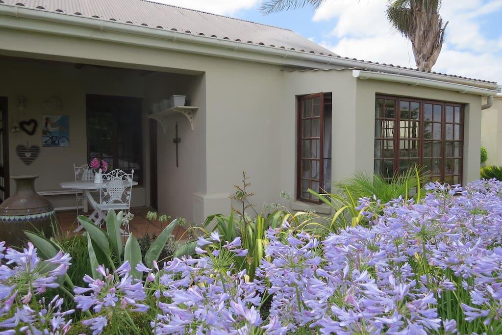 Front garden entrance.