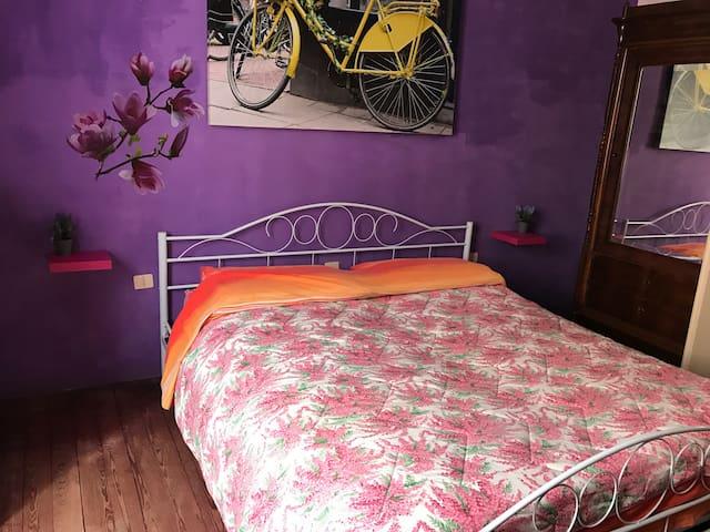 VINTAGE ROOM. STANZA MATRIMIONIALE FEDERICA - Desenzano del Garda - House