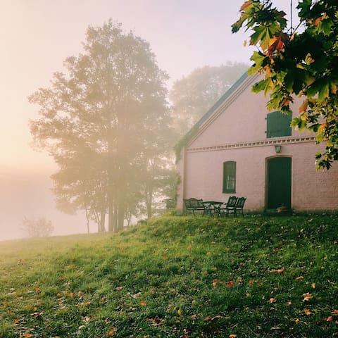 Fischerhaus: Alleinlage, Seenähe mit Boot - Whg. 1