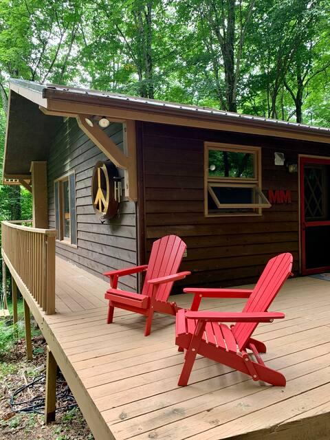 **NEW** The Magical Mountain Cabin, Roan Mountain