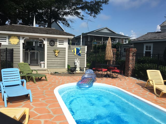 Pool Side Retreat Holden Beach NC