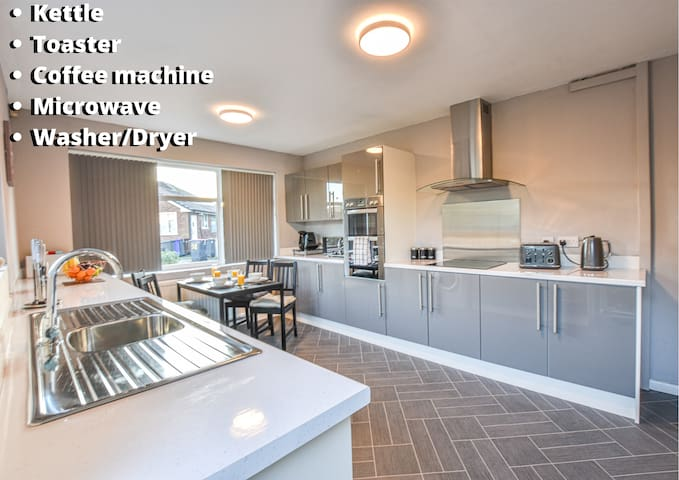 💫Lovely & Spacious 💫  Manchester 4bed Home🏡