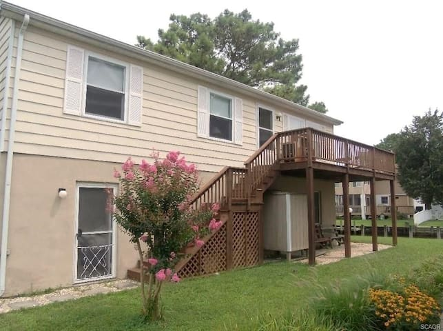 Cute canalfront home perfect for a vacation-pet friendly! - South Bethany