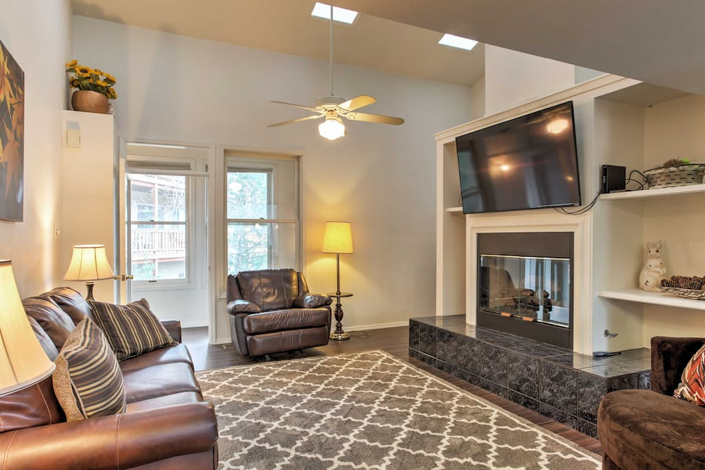 The home has 2 living areas, offering plenty of space to spread out and relax.