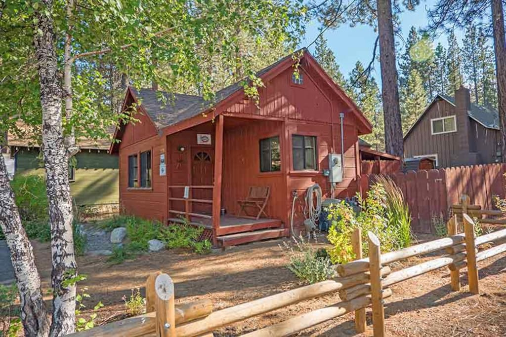 Romantic cabin with private hot tub cabins for rent in Rent a cabin in lake tahoe ca