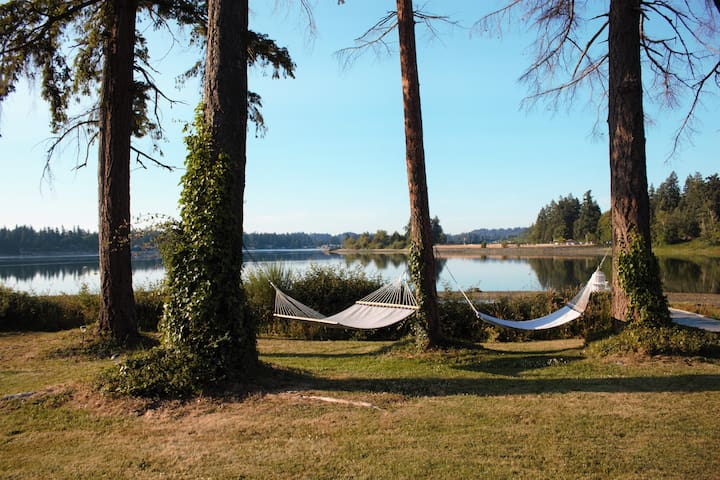 Nap in the two hammocks on property and bask in the tranquil resort-like setting.