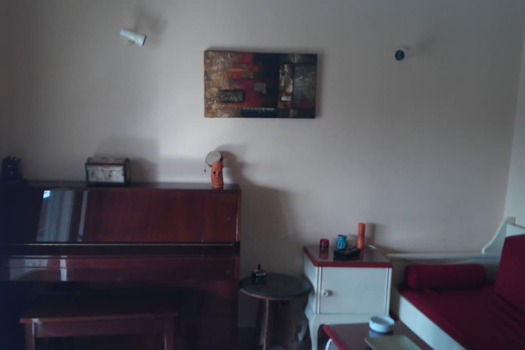 living room/bedroom 1