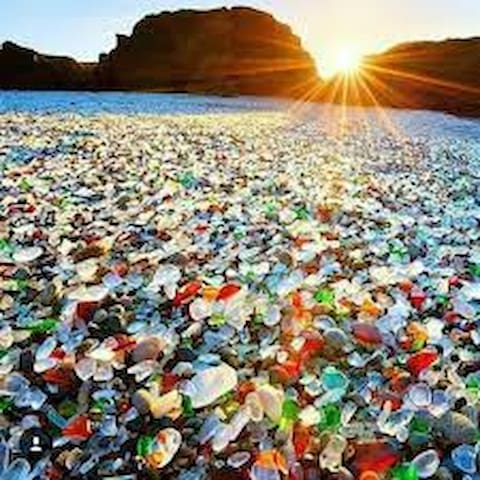 Get Away at Glass Beach! - Fort Bragg