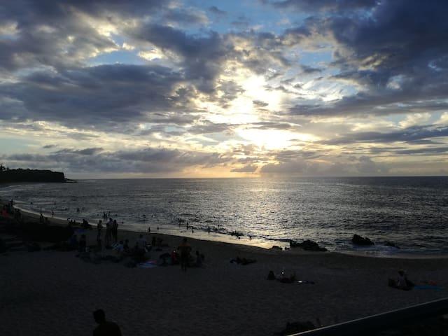 Studio de charme à Boucan, plage et resto à pied