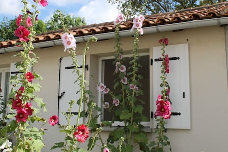 Maisonnette indépendante avec jardinet 4 personnes