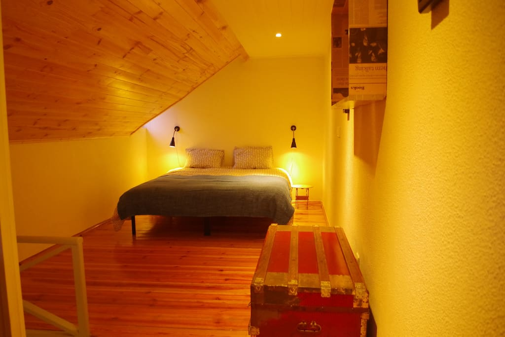 Upstairs Bedroom with King Size Double Bed