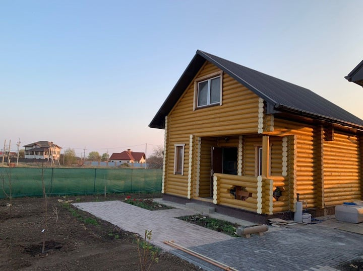 Дерев'яний будинок із усіма зручностями