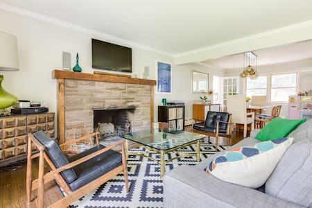 Updated modern in Bergen County - Oradell