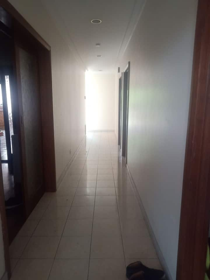 Our place is a 3 bedroom house with students.