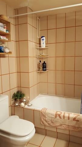 Baño privado con bañera just for you