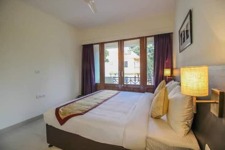 2BHK fully serviced Apartment surrounded by NATURE