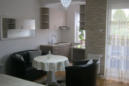 Ildiko Studio apartment is a calm place to relax.