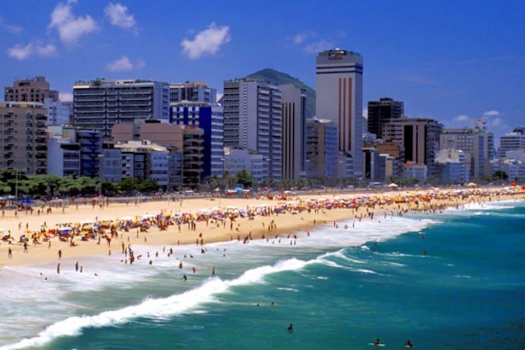The fantastic beaches!