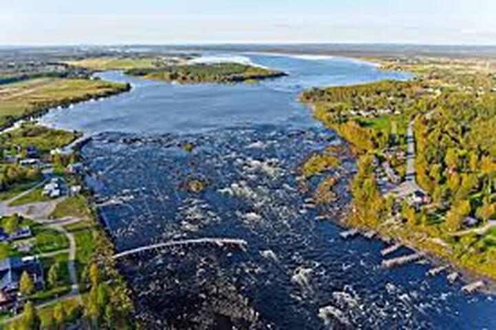 Kukkola Falls, Tornio river.