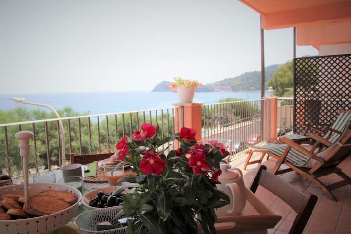 Poseidone Sea Apartment Mazzeo -Taormina