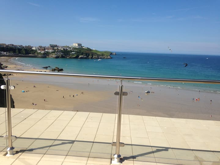 The View - a perfect place to chill in Newquay.