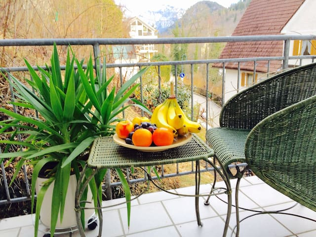 Appartement with view to the Alps - Füssen - Byt