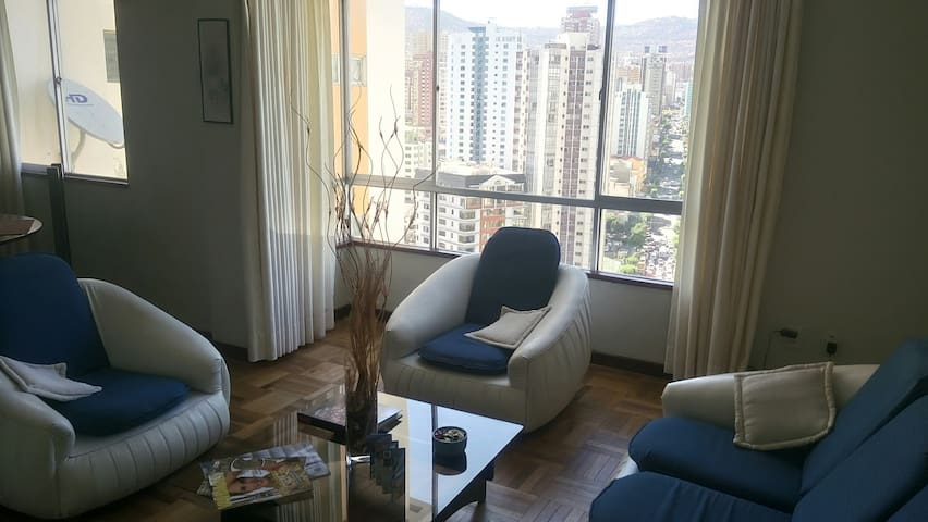 ❤️Downtown 20Floor, 360°Views AIRPORT Transfer Srv