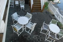Patio in Rear of Home on Lafitte Cove