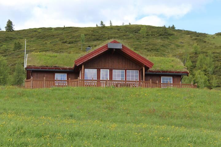 Nubgardsbu a mountain cabin with view at Torpoåsen