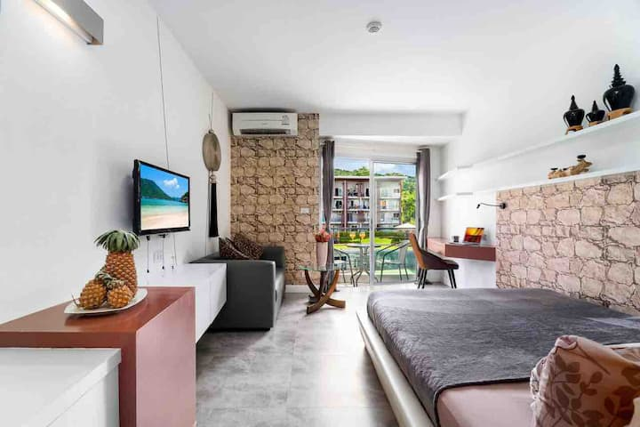 Samui Nice Apartment with kitchen in Best Condo