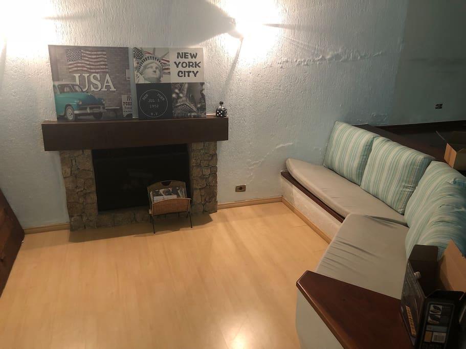 Lareira / Fireplace