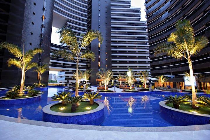 Escala - Landscape Beira Mar 1903T3 Vista Cidade - Fortaleza - Apartment