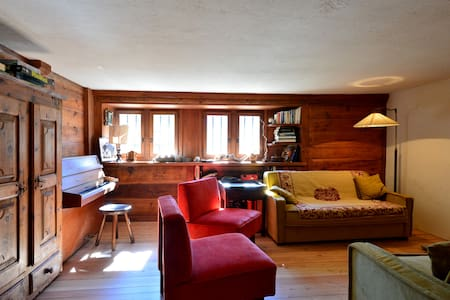 Montella: large  chalet near ski with spa