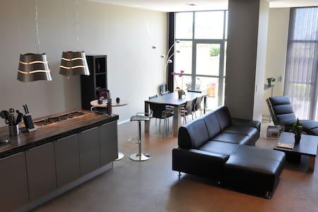 Maison moderne au coeur des vignes - Frontenas - Huis