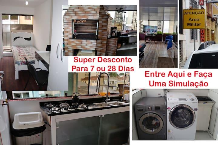 Quarto Centro Individual Completo Curitiba 05