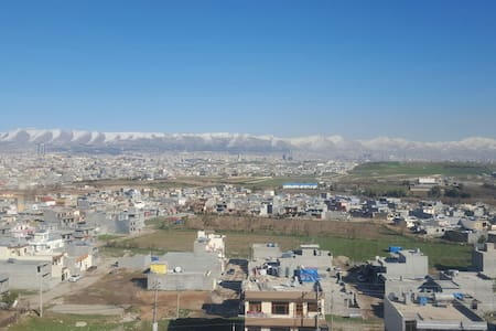 Big place with amazing views - Sulaymaniyah