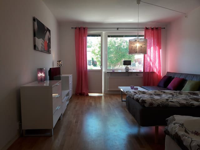 Fin lägenhet i Visby, 2 bäddar