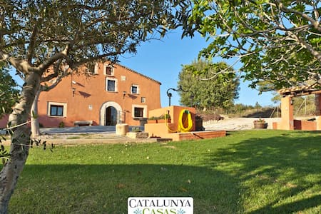 Masia Gipot, 20 min from the beach! - Castellet - Haus