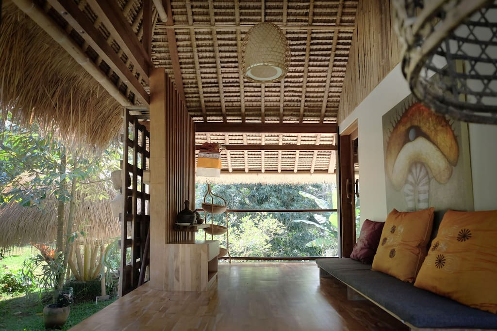Space for meditation, yoga or just sit and enjoy the breeze