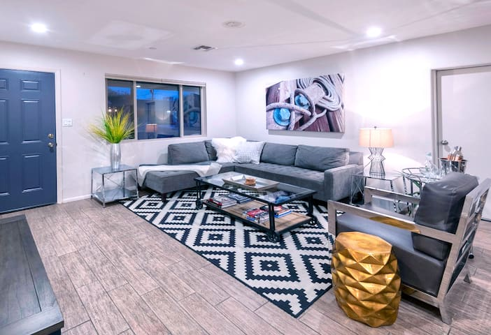 Tastefully designed living room with no compromise in comfort for style
