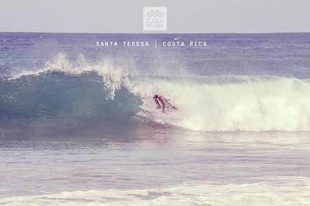Santa Teresa, 100 mts path to beach