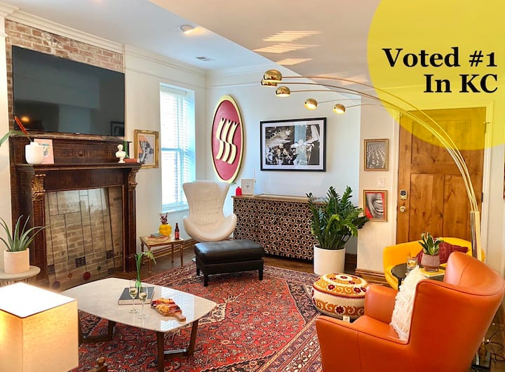 #1 Voted Loft  in Downtown Kansas City