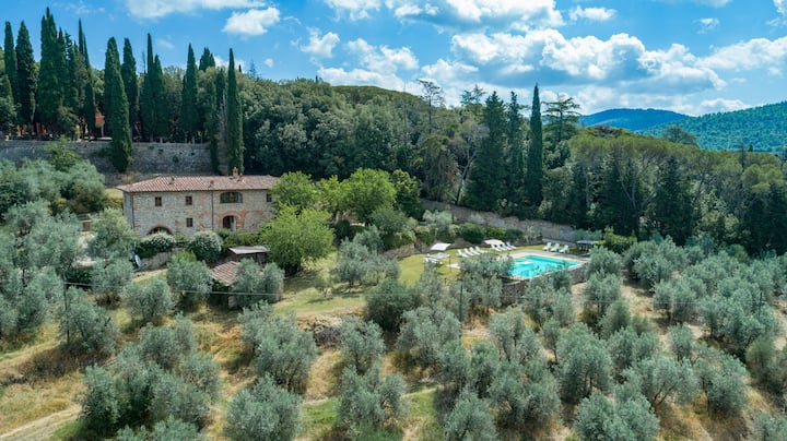 Relaxing holiday in Tuscany, 3 apts. and pool